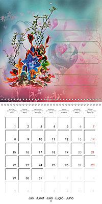 Drawings for notes (Wall Calendar 2019 300 × 300 mm Square) - Produktdetailbild 7