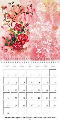 Drawings for notes (Wall Calendar 2019 300 × 300 mm Square) - Produktdetailbild 9