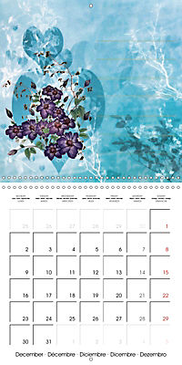 Drawings for notes (Wall Calendar 2019 300 × 300 mm Square) - Produktdetailbild 12