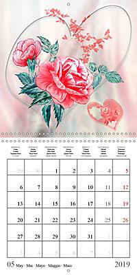 Drawings of Rose Fantasies (Wall Calendar 2019 300 × 300 mm Square) - Produktdetailbild 5