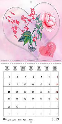 Drawings of Rose Fantasies (Wall Calendar 2019 300 × 300 mm Square) - Produktdetailbild 4