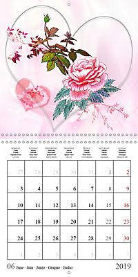 Drawings of Rose Fantasies (Wall Calendar 2019 300 × 300 mm Square) - Produktdetailbild 6