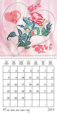 Drawings of Rose Fantasies (Wall Calendar 2019 300 × 300 mm Square) - Produktdetailbild 7
