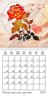 Drawings of Rose Fantasies (Wall Calendar 2019 300 × 300 mm Square) - Produktdetailbild 10