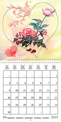 Drawings of Rose Fantasies (Wall Calendar 2019 300 × 300 mm Square) - Produktdetailbild 9