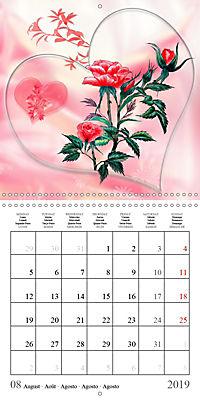 Drawings of Rose Fantasies (Wall Calendar 2019 300 × 300 mm Square) - Produktdetailbild 8