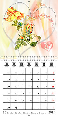 Drawings of Rose Fantasies (Wall Calendar 2019 300 × 300 mm Square) - Produktdetailbild 12