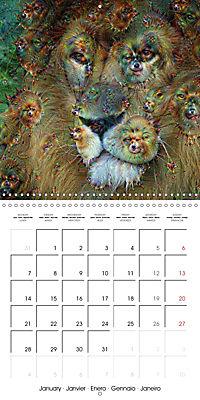 Dream Creatures (Wall Calendar 2019 300 × 300 mm Square) - Produktdetailbild 1