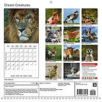 Dream Creatures (Wall Calendar 2019 300 × 300 mm Square) - Produktdetailbild 13