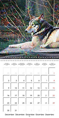 Dream Creatures (Wall Calendar 2019 300 × 300 mm Square) - Produktdetailbild 12