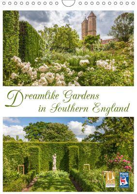 Dreamlike Gardens in Southern England (Wall Calendar 2019 DIN A4 Portrait), Christian Mueringer