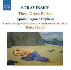 Drei Griechische Ballette, Robert Craft, Lso