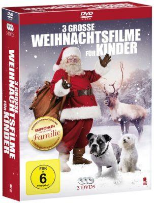 Drei grosse Weihnachtsfilme für Kinder