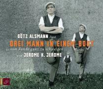 Drei Mann in einem Boot, 5 Audio-CDs, Jerome K. Jerome