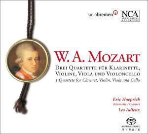Drei Quartette Für Klarinette & Streichtrio, Heoprich, Ensemble Les Adieux