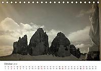 Drei Zinnen - Südtirols Wahrzeichen (Tischkalender 2019 DIN A5 quer) - Produktdetailbild 10