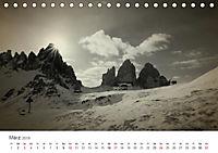 Drei Zinnen - Südtirols Wahrzeichen (Tischkalender 2019 DIN A5 quer) - Produktdetailbild 3