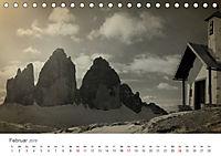 Drei Zinnen - Südtirols Wahrzeichen (Tischkalender 2019 DIN A5 quer) - Produktdetailbild 2