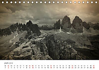 Drei Zinnen - Südtirols Wahrzeichen (Tischkalender 2019 DIN A5 quer) - Produktdetailbild 6