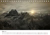 Drei Zinnen - Südtirols Wahrzeichen (Tischkalender 2019 DIN A5 quer) - Produktdetailbild 5