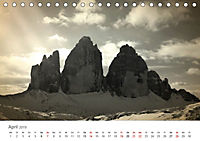 Drei Zinnen - Südtirols Wahrzeichen (Tischkalender 2019 DIN A5 quer) - Produktdetailbild 4