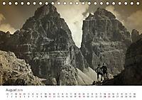 Drei Zinnen - Südtirols Wahrzeichen (Tischkalender 2019 DIN A5 quer) - Produktdetailbild 8
