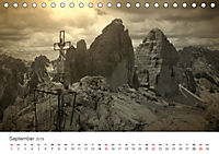 Drei Zinnen - Südtirols Wahrzeichen (Tischkalender 2019 DIN A5 quer) - Produktdetailbild 9