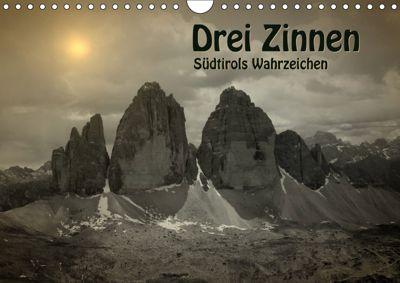 Drei Zinnen - Südtirols Wahrzeichen (Wandkalender 2019 DIN A4 quer), Georg Niederkofler