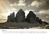 Drei Zinnen - Südtirols Wahrzeichen (Wandkalender 2019 DIN A2 quer) - Produktdetailbild 4