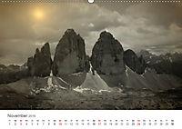Drei Zinnen - Südtirols Wahrzeichen (Wandkalender 2019 DIN A2 quer) - Produktdetailbild 11