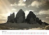 Drei Zinnen - Südtirols Wahrzeichen (Wandkalender 2019 DIN A4 quer) - Produktdetailbild 4