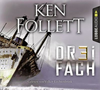 Dreifach, 6 Audio-CDs, Ken Follett