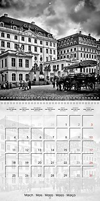 DRESDEN Monochrome Highlights (Wall Calendar 2019 300 × 300 mm Square) - Produktdetailbild 3
