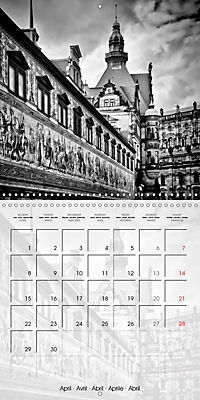 DRESDEN Monochrome Highlights (Wall Calendar 2019 300 × 300 mm Square) - Produktdetailbild 4