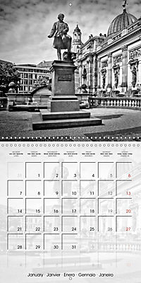 DRESDEN Monochrome Highlights (Wall Calendar 2019 300 × 300 mm Square) - Produktdetailbild 1