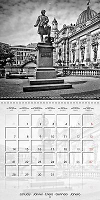 DRESDEN Monochrome Highlights (Wall Calendar 2019 300 × 300 mm Square) - Produktdetailbild 1