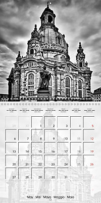 DRESDEN Monochrome Highlights (Wall Calendar 2019 300 × 300 mm Square) - Produktdetailbild 5