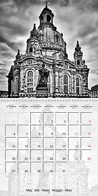 DRESDEN Monochrome Highlights (Wall Calendar 2019 300 × 300 mm Square) - Produktdetailbild 5