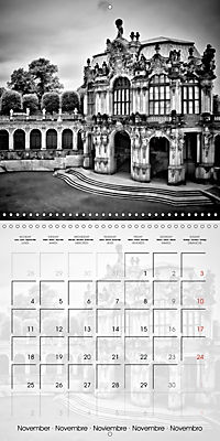 DRESDEN Monochrome Highlights (Wall Calendar 2019 300 × 300 mm Square) - Produktdetailbild 11