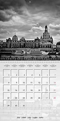 DRESDEN Monochrome Highlights (Wall Calendar 2019 300 × 300 mm Square) - Produktdetailbild 7