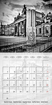 DRESDEN Monochrome Highlights (Wall Calendar 2019 300 × 300 mm Square) - Produktdetailbild 9