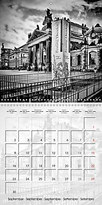 DRESDEN Monochrome Highlights (Wall Calendar 2019 300 × 300 mm Square) - Produktdetailbild 9