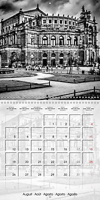 DRESDEN Monochrome Highlights (Wall Calendar 2019 300 × 300 mm Square) - Produktdetailbild 8