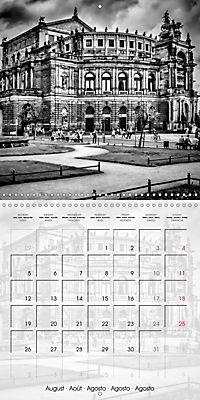 DRESDEN Monochrome Highlights (Wall Calendar 2019 300 × 300 mm Square) - Produktdetailbild 8