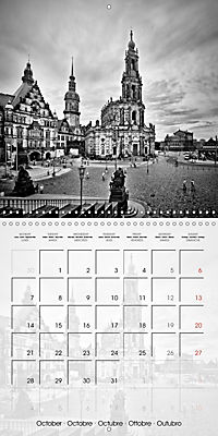 DRESDEN Monochrome Highlights (Wall Calendar 2019 300 × 300 mm Square) - Produktdetailbild 10