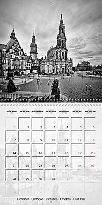 DRESDEN Monochrome Highlights (Wall Calendar 2019 300 × 300 mm Square) - Produktdetailbild 10