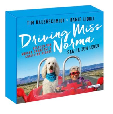 Driving Miss Norma, 5 Audio-CDs, Tim Bauerschmidt, Ramie Liddle