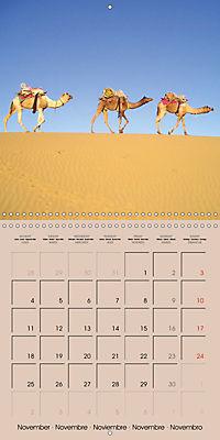 Dromedary and Camel - Giants of the Desert (Wall Calendar 2019 300 × 300 mm Square) - Produktdetailbild 11