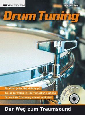 Drum Tuning, m. Audio-CD, Nils Schröder