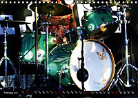 Drums On Stage - Let's Rock (Wall Calendar 2019 DIN A4 Landscape) - Produktdetailbild 2